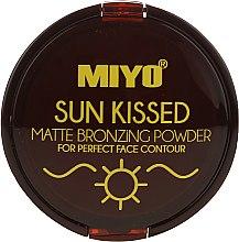 Voňavky, Parfémy, kozmetika Bronzový púder - Miyo Sun Kissed Matt Bronzing Powder