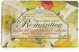 """Voňavky, Parfémy, kozmetika Mydlo """"Ľalia a narcis"""" - Nesti Dante Romantica Tuscan Lily&Narcissus Soap"""
