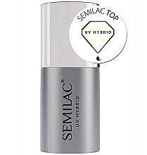 Voňavky, Parfémy, kozmetika Top pre gélový lak - Semilac UV Hybrid