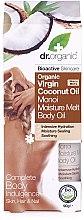 Voňavky, Parfémy, kozmetika Olej na telo s kokosovým mliekom - Dr.Organic Virgin Coconut Oil Moisture Melt Body Oil
