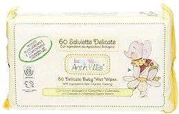 Voňavky, Parfémy, kozmetika Detské mokré obrúsky, 60 ks - Anthyllis Cleansing Wipes
