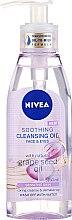 Voňavky, Parfémy, kozmetika Čistiaci olej pre citlivú pokožku - Nivea Cleansing Oil Soothing Grape Seed
