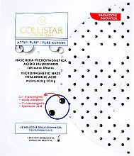Voňavky, Parfémy, kozmetika Hyaluronová maska na tvár - Collistar Pure Actives Micromagnetic Mask Hyaluronic Acid