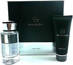 Voňavky, Parfémy, kozmetika Mercedes-Benz Mercedes-Benz For Men - Sada (edt/120ml + s/g/100ml)