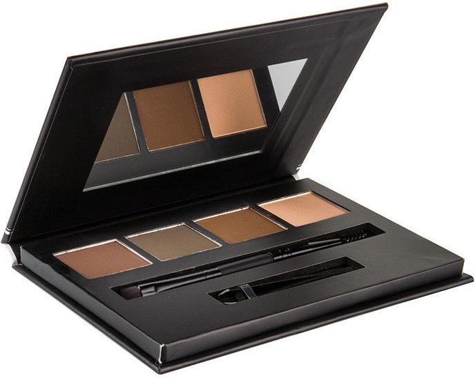 Tiene na obočie - Bellapierre Cosmetics Brow Palette — Obrázky N1