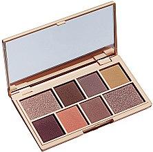 Voňavky, Parfémy, kozmetika Paleta tieňov na viečka,8 odtieňov - I Heart Revolution Mini Eyeshadow Palette