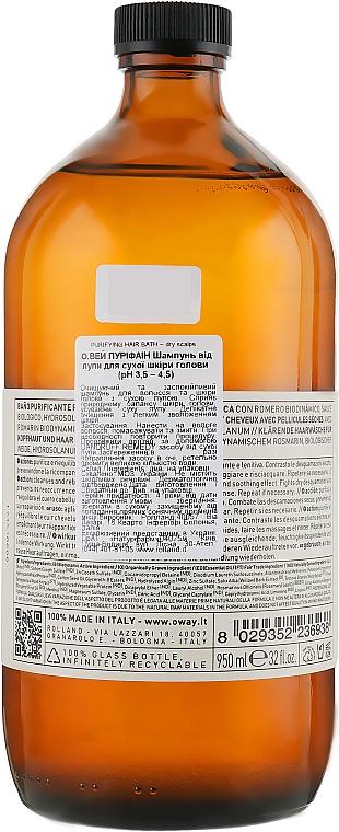 Šampón proti lupinám pre suchú pokožku hlavy - Oway Purifying Hair Bath Dry Scalps — Obrázky N3