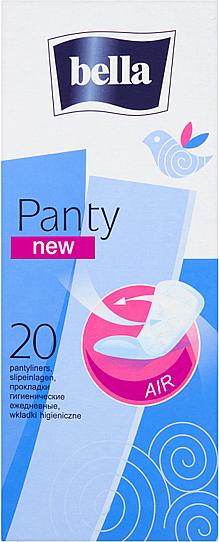 Hygienické vložky Panty New, 20 ks - Bella