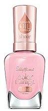 Voňavky, Parfémy, kozmetika Lak na nechty s arganovým olejom - Sally Hansen Color Therapy Sheer Nail Color