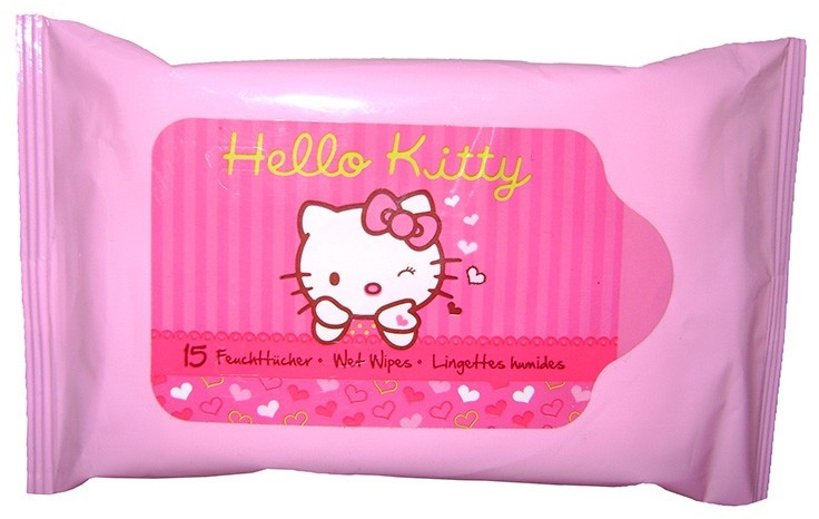 Vlhké utierky - VitalCare Hello Kitty Wet Wipes — Obrázky N1