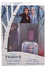 Voňavky, Parfémy, kozmetika Disney Frozen II - Sada (edt/30ml + sh/gel/70ml)