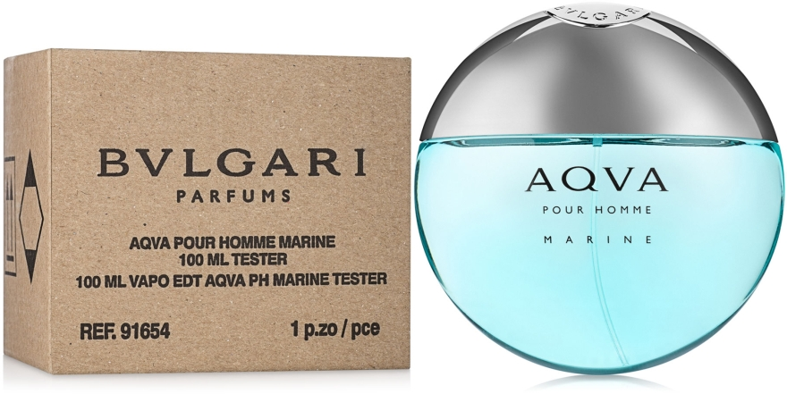 Bvlgari Aqva Pour Homme Marine - Toaletná voda (tester) — Obrázky N2
