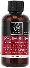 Voňavky, Parfémy, kozmetika Šampón so slnečnicou a medom - Apivita Propoline Shampoo For Colored Hair