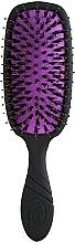 Voňavky, Parfémy, kozmetika Kefa na dodanie vlasom lesku, čierna - Wet Brush Pro Shine Enhancer Blackout