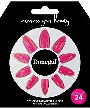 Voňavky, Parfémy, kozmetika Sada umelých nechtov s lepidlom, 3060 - Donegal Express Your Beauty