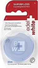 Voňavky, Parfémy, kozmetika Zubná niť, ktorá sa rozširuje - Edel+White Expanding Floss
