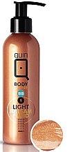 Voňavky, Parfémy, kozmetika Balzam-fluid pre prírodné opálenie - Silcare Quin Fluid BB 1 Body Shine Light