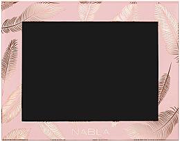 Voňavky, Parfémy, kozmetika Kozmetické puzdro, ružové - Nabla Liberty Six Customizable Palette