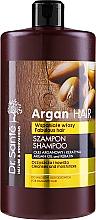 """Voňavky, Parfémy, kozmetika Šampón na vlasy """"Hydratačný"""" s arganovým olejom a keratínom - Dr. Sante Argan Hair"""