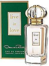 Voňavky, Parfémy, kozmetika Oscar de la Renta Live in Love - Parfumovaná voda