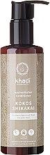 "Voňavky, Parfémy, kozmetika Kondicionér na vlasy ""Kokos a Shikakai"" - Khadi Kokos Shikakai Hair Conditioner"