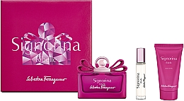 Voňavky, Parfémy, kozmetika Salvatore Ferragamo Signorina Ribelle - Sada (edp/100ml +edp/10ml+ b/lot/50ml)