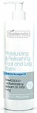 Voňavky, Parfémy, kozmetika Hydratačný a osviežujúci balzam na nohy a chodidlá - Bielenda Professional Foot Program