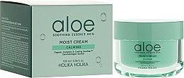 Voňavky, Parfémy, kozmetika Krém na tvár s extraktom aloe vera - Holika Holika Aloe Soothing Essence 80% Moist Cream