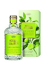 Voňavky, Parfémy, kozmetika Maurer & Wirtz 4711 Aqua Colognia Lime & Nutmeg - Kolínska voda