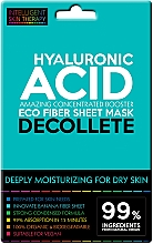 Voňavky, Parfémy, kozmetika Expresná maska pre oblasť dekoltu - Beauty Face IST Extremely Moisturizing Decolette Mask Hyaluronic Acid