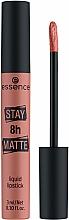 Voňavky, Parfémy, kozmetika Tekutý rúž na pery - Essence Stay 8H Matte Liquid Lipstick