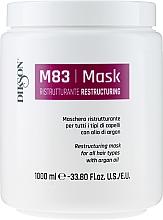 Voňavky, Parfémy, kozmetika Regeneračná maska pre všetky typy vlasov s arganovým olejom - Dikson M83 Restructuring Mask