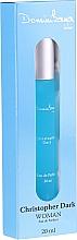 Voňavky, Parfémy, kozmetika Christopher Dark Dominikana Blue - Parfumovaná voda (mini)