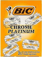 """Voňavky, Parfémy, kozmetika Sada žiletok pre stroj """"Chrome Platinum"""", 100ks - Bic"""