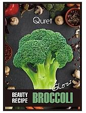 Voňavky, Parfémy, kozmetika Maska pre žiarivosť pokožky - Quret Beauty Recipe Mask Broccoli Glow