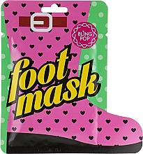 Voňavky, Parfémy, kozmetika Ponožky na pedikúru s bambuckým maslom - Bling Pop Shea Butter Healing Foot Mask