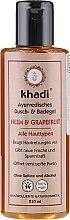 """Voňavky, Parfémy, kozmetika Sprchový gél a kúpeľ """"Neem-grapefruit"""" - Khadi Bath & Body Wash Neem & Grapefruit"""