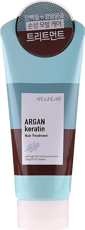 Maska na vlasy - Welcos Around Me Argan Keratin Hair Treatment