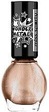 Voňavky, Parfémy, kozmetika Lak na nechty - Miss Sporty Wonder Metal
