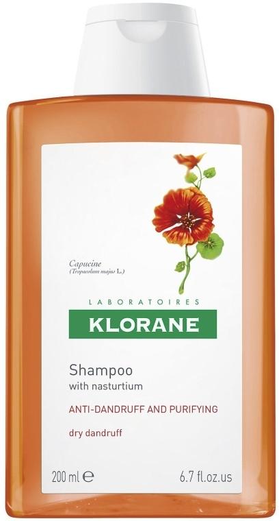 Šampón od suchých lupin s extraktom Nasturtium - Klorane Shampoo with Myrtle — Obrázky N1