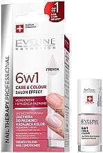 Voňavky, Parfémy, kozmetika Spevňujúci lak na nechty 6v1 - Eveline Cosmetics Nail Therapy Professional