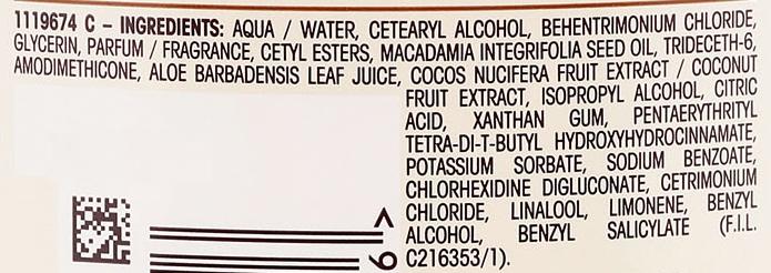 Balzam-kondicionér pre výživu a jemnosť vlasov - Garnier Botanic Therapy Coconut Milk & Makadamia Conditioner — Obrázky N3