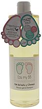 Voňavky, Parfémy, kozmetika Sprchový gél a šampón na vlasy a telo - Air-Val International Eau My BB Shower Gel & Shampoo