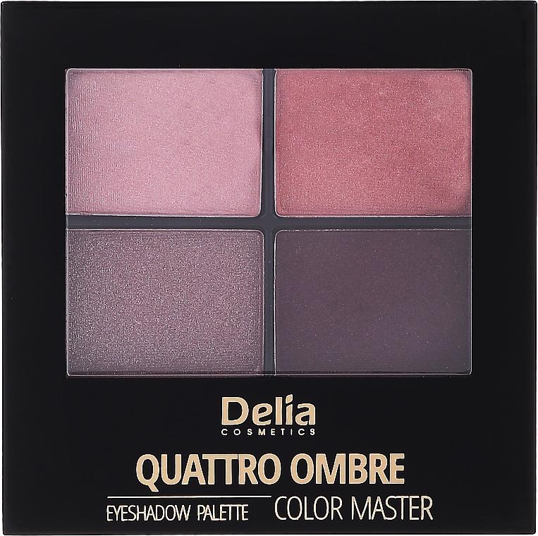 Očné tiene - Delia Quattro Ombre Color Master