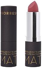 Voňavky, Parfémy, kozmetika Matný rúž na pery - Korres Morello Matte Lipstick