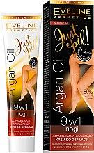 Voňavky, Parfémy, kozmetika Depilačný krém 9v1 - Eveline Cosmetics Argan Oil