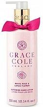 Voňavky, Parfémy, kozmetika Lotion na ruky - Grace Cole White Rose & Lotus Flower Hand Lotion
