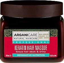 Voňavky, Parfémy, kozmetika Keratínová maska pre všetky typy vlasov - Arganicare Keratin Nourishing Hair Masque