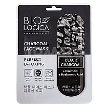 Voňavky, Parfémy, kozmetika Maska Dokonalý detox s uhlím - Biologica Charcoal