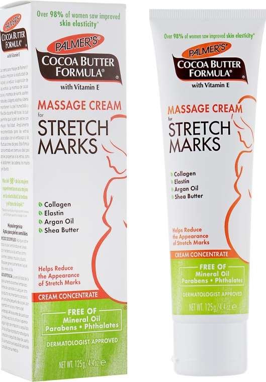 Telový masážny krém proti striám - Palmer's Cocoa Butter Formula Massage Cream for Stretch Marks